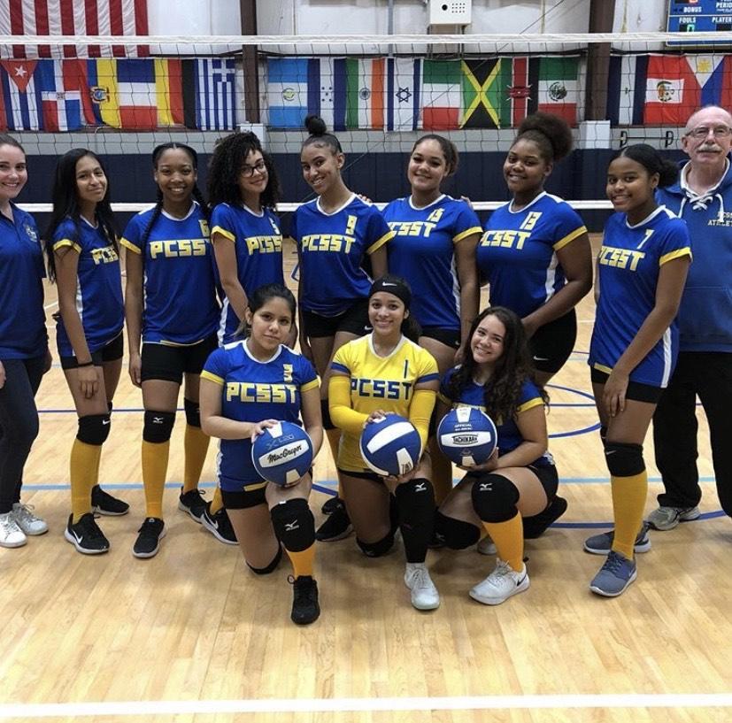 Girlsv-ballteam